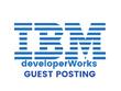 Publish a guest post on IBM developerWorks