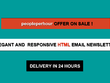Design an Elegant and Responsive Email / HTML Newsletter