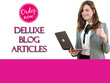 Do SEO article writing, content writing, and blog writing