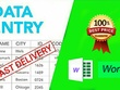 DO DATA ENTRY JOB OF 15 PAGES