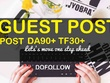 Write & guest post on 2 Real  website DA90+ TF30+ Dofollow