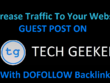 Do Guest Post On Techgeekers.com