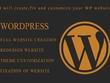 CREATE, FIX AND CUTOMIZE YOU WORDPRESS WEBSITE