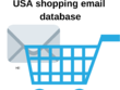 USA shopping 3,00,000 email database