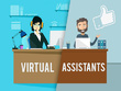 Virtual assistant for 2 hours