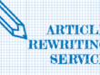 REWRITE 500 words  article/blog to pass copyscape in 4 HOURS