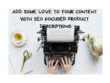 Write engaging 1000 word SEO product description for your niche