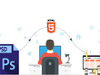 Convert 1 page PSD To Html  responsive