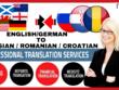 Translate German/English to Russian, Croatian (1000 Words)