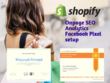 Do Shopify SEO and Integrate Google Analytics & Facebook Pixel