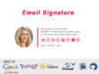 Convert psd to HTML Email Signature