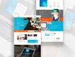 Create 5 page custom responsive website in wordpress