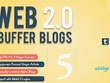 Create 5 manually web 2.0 High DA 30+ blog sites Backlinks