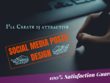 Create 15 Attractive Social Media Posts Design