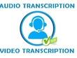 Transcribe 60 minutes audio/video