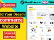 Build wordpress ecommerce website within 24 hours
