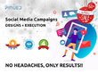 Run social media ad campaigns with RESULTS (Reach/Engage/Leads)