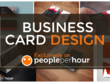 Design business card with unlimited concepts and revisions