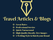 ★ Awesome SEO Travel Content for Blog Posts & Articles ★