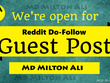 Do DA 99 PA 96 TF 68 CF 56 Reddit Do-Follow Guest Post