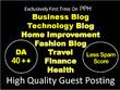 Do Guest Post In DA 40 All Niches Blog- Tech, Health, Business..