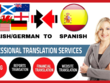 Translate English to Spanish and Spanish to English (2500 words)