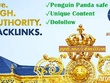 Super Powerful 5 Authority backlinks from High DA PA TF CF sites
