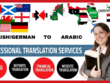 Translate English to Arabic and Arabic to English (1000 Words)