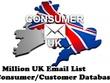2 Million UK Consumer/Customer Email Database