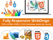 PSD To Responsive Page in Bootstrap 4.0 (HTML5+CSS3)