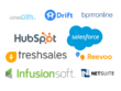 Provide Database of companies using Salesforce/Hubspot/Zoho etc