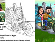 Illustrate personalised Caricature portrait for you(any style)