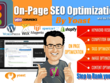 Do wordpress yoast seo optimization and SEO Audit Report