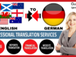 Translate English to German and German to English (2000 Words)