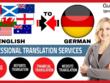 Translate English to German and German to English (2000 Words)