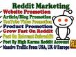 Promote Your Website On High Karma Reddit Account