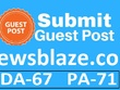 Publish Guest Post On Newsblaze - Newsblaze.com