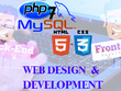 Develop responsive website using php