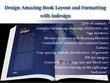 Design Book Layout, Typeset Books Interior Or Booklet