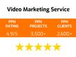 Provide a video marketing service