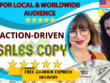 Write 300 words of Professional Sales Copy That Converts
