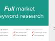 Full Google SEO Market Keyword Research