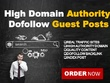 15 Real Guest Post (No PBN) DA 20- 50+ High PR Dofollow Backlink