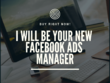 Be your advertising partners using FB ads to Boost your sales.