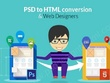 PSD to responsive HTML5,CSS3 using Bootstrap4 and SASS/SCSS
