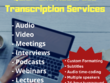 Provide flawless transcription