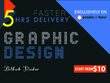 Design any graphic design and Photoshop related project