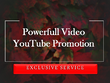 Powerfull Youtube Video Promotion To Get Ranked on Youtube