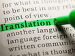 Translate any 500 words from English to Italian & Vice Versa