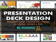 Design a  professional pitch deck / powerpoint / keynote /